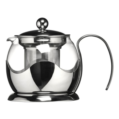 Stainless Steel Teapot With Infuser, 650 ml