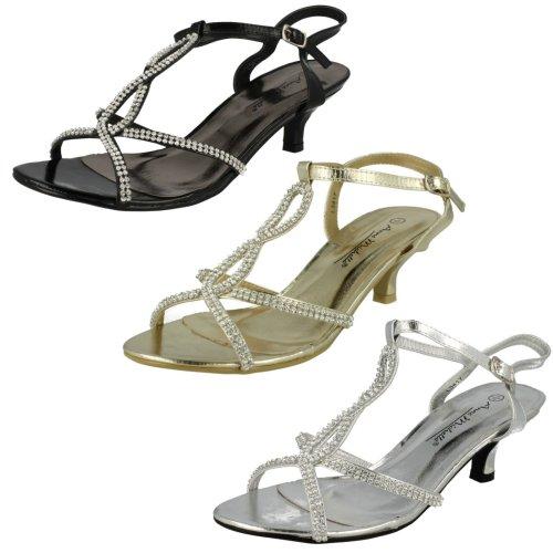 Ladies Anne Michelle Low Heel Sandals