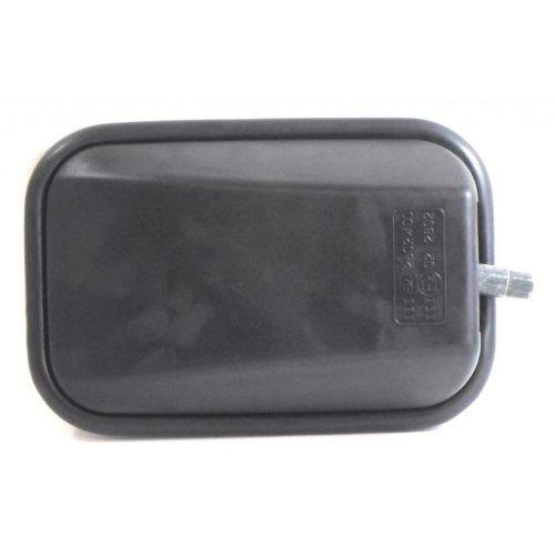 Land Rover Defender 1969-2006 Manual Wing Door Mirror Black Cover Drivers Side