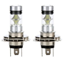 2x H4 100W 20SMD LED Bulb 6000K Super Bright Fog Headlight