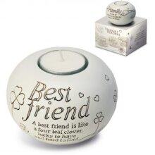 Said with Sentiment - Tealight Holder - Best Friend