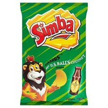 Simba Mrs Balls Chutney Flavoured Potato Chips - 125g