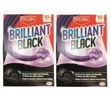 Dylon Brilliant Black 10 Sheets
