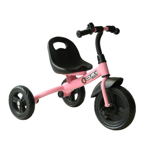 Homcom Ride-On Toddler Tricycle - Pink | Toddler 3-Wheel Bike