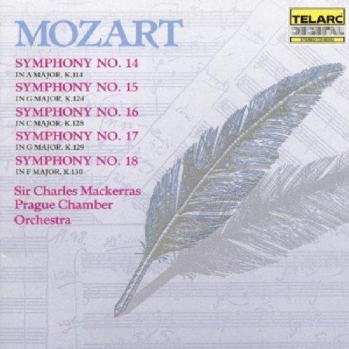 Charles Mackerras - Mozart: Symphonies Nos. 14-18 [CD]