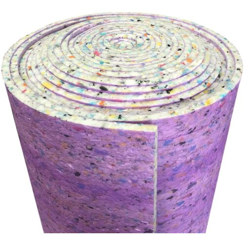 12mm Thick PU Foam Carpet UNderlay 15m2 Per ROll