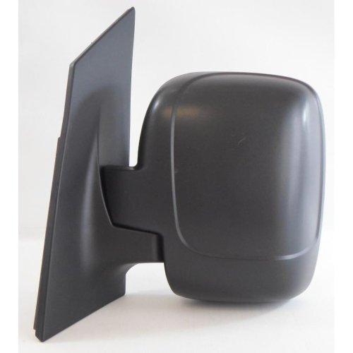 Peugeot Expert Van 2007-> Cable Twin Glass Black Wing Door Mirror Passenger Side