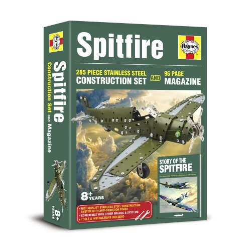 Spitfire Construction Set & 96 Page Bookazine