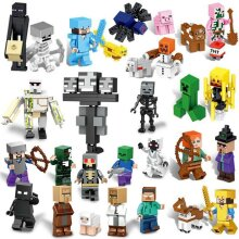 Minecraft Blocks Figures Fit Building Characters