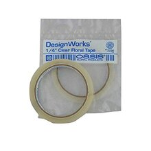 Oasis clear Floral Tape - 1/4w 60 yrd. Roll by Smithers Oasis