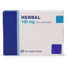 20 x 100 mg Blue Tablets Men Sex Pills Sexual Potency Erection Libido