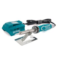 TOTAL TOOLS Cordless Soldering Iron 20v Lightweight Soft Grip Quick Heating Body Only