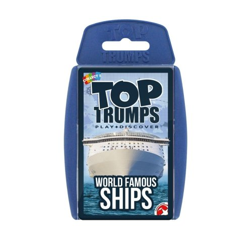 Famous World Ships Top Trumps Classics