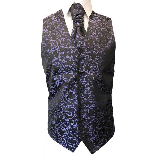 Abel /& Burke Swirl Leaf Wedding Waistcoat//Formal Waistcoat