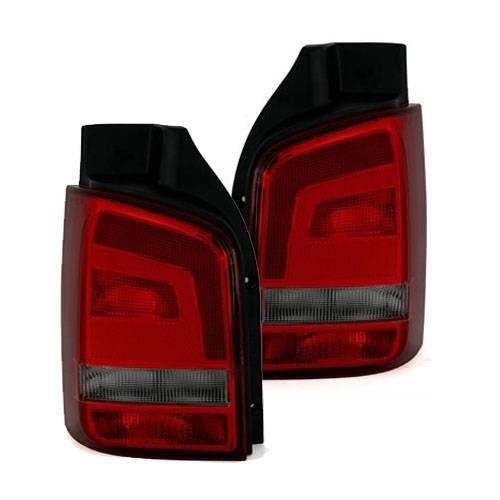 Volkswagen Transporter T5 2010-> Rear Tail Lights 1 Pair O/s & N/s