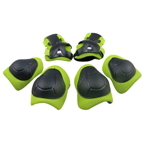 GIM Child's Pad Set with Knee Elbow and Wrist (Green)