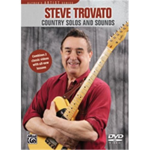 Alfred 00-37075 TROVATO COUNTRY GTR:SOLOS SOUND-DVD