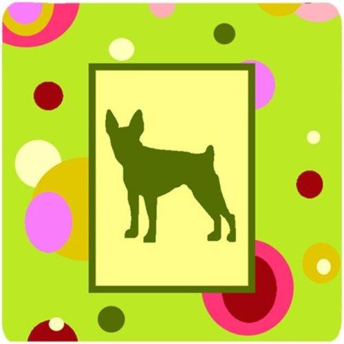 Fox Terrier Foam Coasters - Set Of 4
