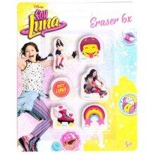 Soy Luna erasers 6-pieces