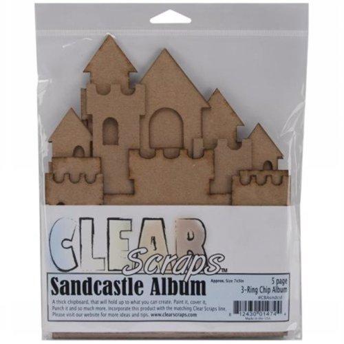 "Sandcastle Chipboard Album 7""X9"