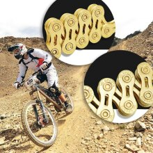 8/9/10/11 Speed Bike Chain MTB Racing Bicycle Hollow Cycling Components Parts