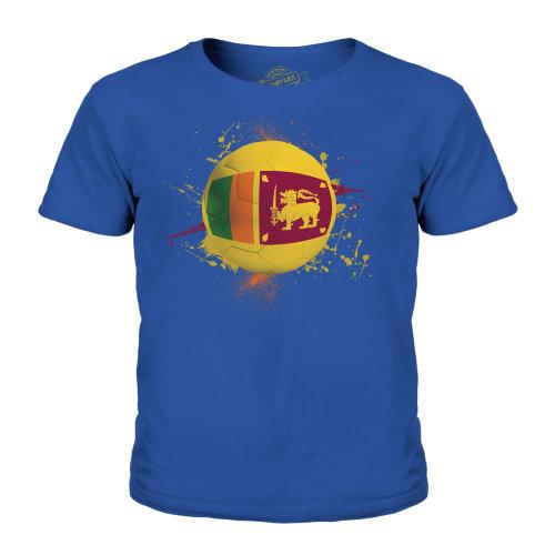 Candymix - Sri Lanka Football - Unisex Kid's T-Shirt
