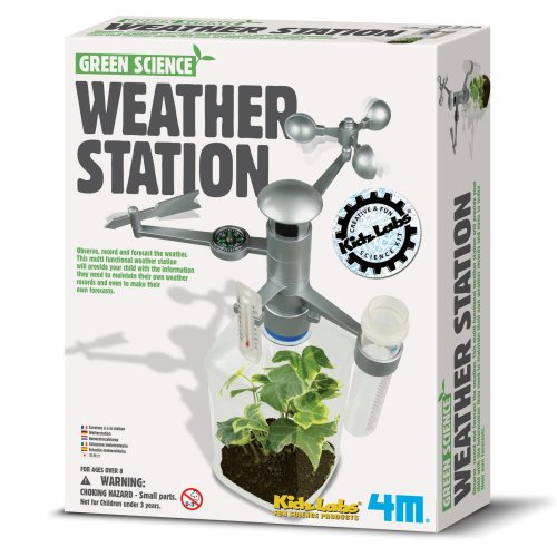 Weather Station - Green Science Children's Creative Set
