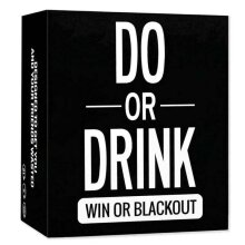 Do or Drink - Drinking Card Game for Adults - Fun & Dirty Party - Dare or Shots