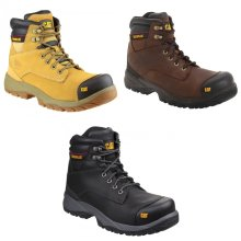 Caterpillar Mens Spiro Water Resistant Safety Boots