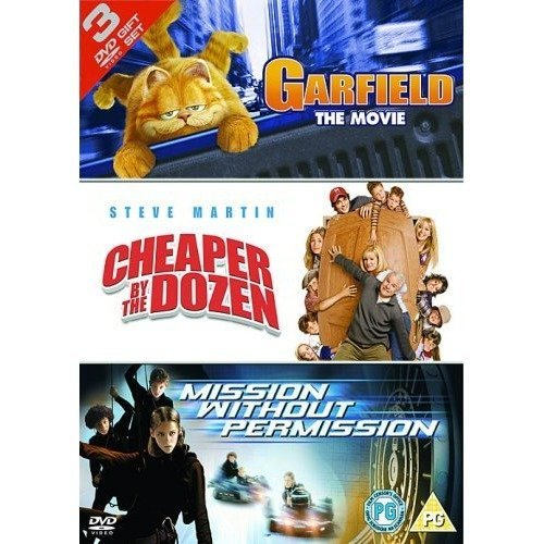 Garfield: the Movie/cheaper by the Dozen/mission Without... [dvd]