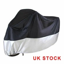 M Size Waterproof Outdoor Motorbike Cover Black practical Motorbike Rain Cover