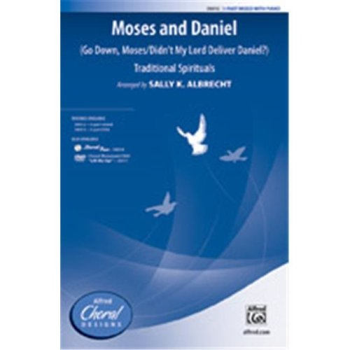 Alfred 00-38014 MOSES AND DANIEL-STRX CD