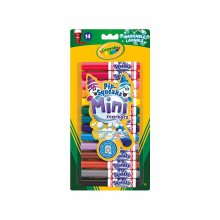 Crayola Crayola Pipe Squeaks Mini Markers (Pack of 14)