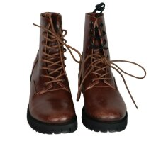 DIESEL D-Depp High Top Lace Up Leather Boots
