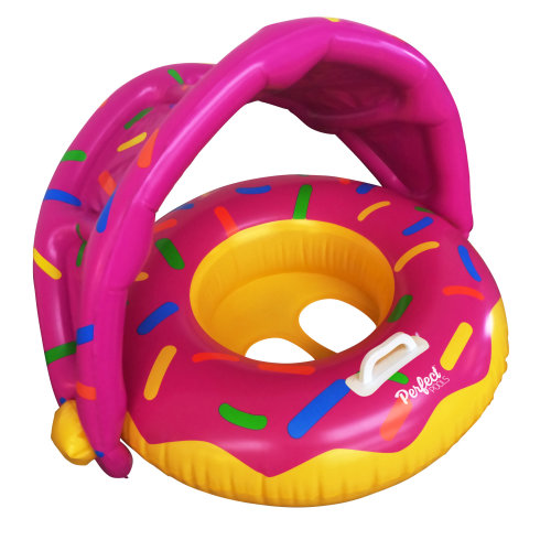 Official 'Perfect Pools' Toddler Doughnut Seat | Babies Pool Donut Ring