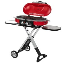 Gas BBQ Portable Folding 2 Burners Ideal Camping