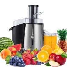 PureMate 1000W NaturoPure Fruit Juicer & Vegetable Juice Extractor