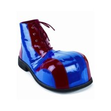 Blue and Red clown Shoes Standard