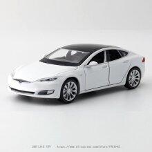 1:32 Tesla MODEL S Alloy Car Model Diecasts(White)