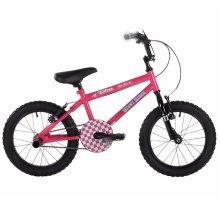 """Bumper Stunt Rider Girls 16"""" Bike, BMX, Pink"""