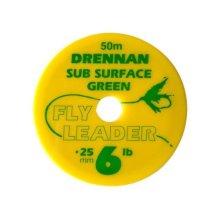 Drennansub Surface Fly Leader 6lb