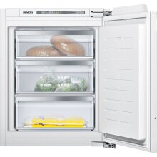 Siemens GI11VAF30 iQ500 56cm Wide Integrated Upright In-Column Freezer, White - Used