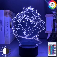 Haikyuu Oikawa Tooru Led Night Light Lamp Bedroom Decor Nigh