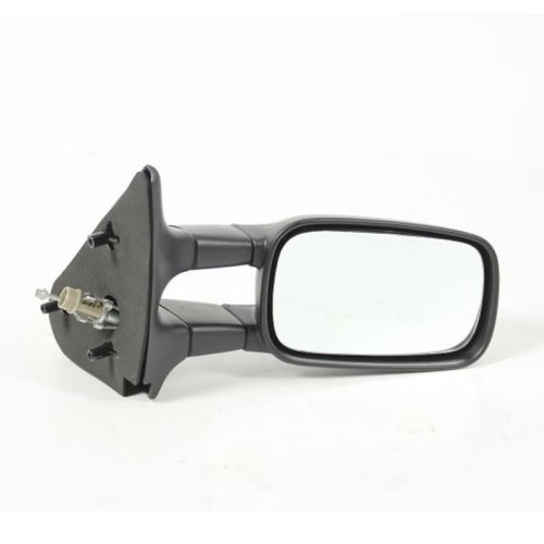 Seat Inca Van 1996-3/2004 Cable Adjust Wing Door Mirror Black Cover Drivers Side