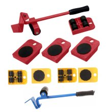 Heavy Furniture Shifter Lifter Wheels Moving Kit