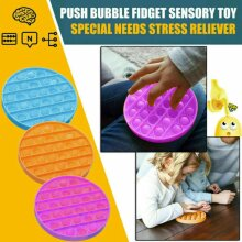 Extrusion Bubble Pop Its Fidget Sensory Toy Stress Reliever Anxiety Relief Toys
