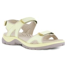 Ecco Womens 2021 Offroad Adjustable Fluidform Cushioned Leather Sandals