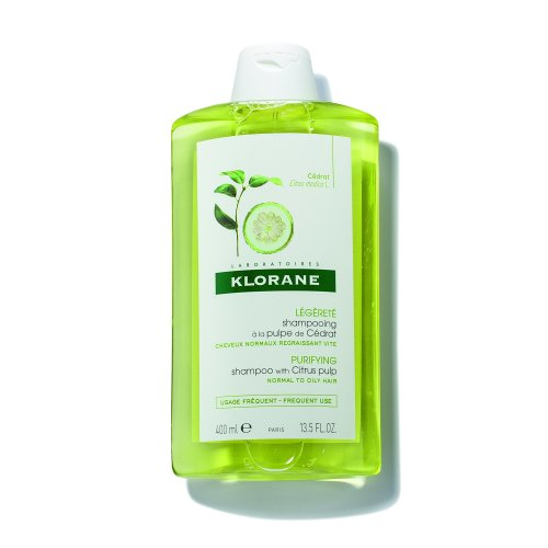 Klorane Purifying Shampoo with Citrus Pulp - Normal to Oily Hair (400ml)