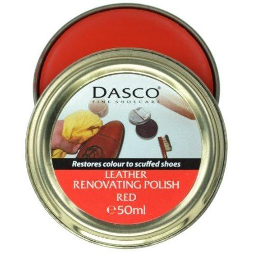 Dasco Renovating Shoe Polish Red