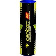 Carlton F2 Slow Speed Badminton Shuttle, Yellow